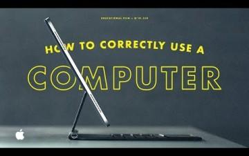 Embedded thumbnail for Jak správně používat počítač podle Applu