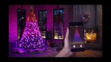 Embedded thumbnail for Chytré vánoční osvětlení Twinkly