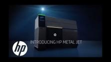 Embedded thumbnail for 3D tisk kovu v podání HP Inc.