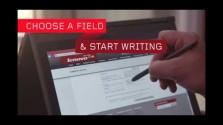 Embedded thumbnail for Lenovo WRITEit