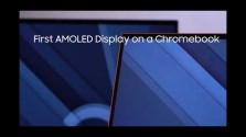 Embedded thumbnail for Samsung Galaxy Chromebook s AMOLED displejem