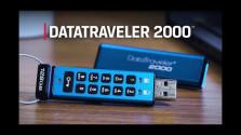 Embedded thumbnail for Bezpečné USB disky Kingston