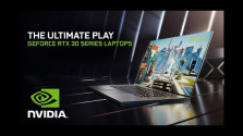 Embedded thumbnail for GeForce RTX řady 3000 míří do notebooků