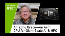 Embedded thumbnail for Nvidia představila vlastní serverové procesory