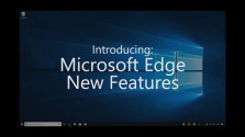 Embedded thumbnail for Prohlížeč Edge a Windows 10 April 2018 Update
