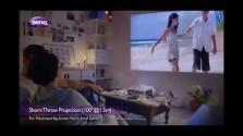 Embedded thumbnail for Projektor s krátkou projekční vzdáleností BenQ W1080ST+