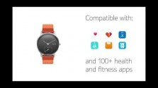 Embedded thumbnail for Hybridní hodinky Withings Steel HR Sport