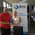 Evžen Valtr (ICZ), vítěz třetího kola turnaje DNS 9ers Golf Cup