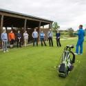 Součástí odpoledního programu byl i golf
