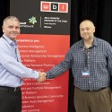 Robert Paskovský z WBI (vlevo) a Roman Cabálek z Microsoftu
