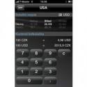 Vše o firmě včetně kurzů měn v iPhone od Cígler Software.