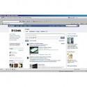 D-Link na Facebooku slibuje fanouškům bohaté informace i zábavu.