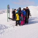 Miroslav Tyburec, ten nejvyšší na snímku i v Oki na lyžovačce s partnery