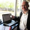 Dan Konečný, Business Development Manager (Unity), předvádí jak snadno web pro mobilní zařízení naklikat