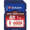 Paměťová karta Verbatim UHS-I SDHC
