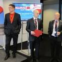 Jan Červinka CEO Adastra Group; Ondřej Frydrych, generální ředitel Adastra CZ; Jan Mrázek, Presinent Adastra Group
