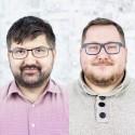 Zleva Jan Sadílek a Jaroslav Kotápiš
