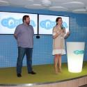 Tomáš Vocetka, ředitel Skype Česká republika, a Biljana Weber, generální ředitelka Microsoft Česká republika při úvodním slovu