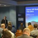 Prezentuje Marcel Divín, business sales manager Epson pro ČR a SR