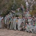 Společná fotografie z Army Parku Ořechov