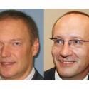 Zleva Alexander Mašek a Vladimír Brož z Fortinetu