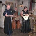 Hudební doprovod zajistila kapela Bohemian bards