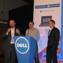 Vlevo Ondřej Bačina, enterprise solutions marketing manager v Dellu, se zástupci společnosti Master Internet