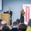 Setkání zahájil Vladimír Prinke, obchodní ředitel eD' system Czech