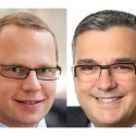 Nicolas Leblanc a Philippe Fossé, manažeři ve společnosti EMC