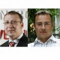 Vlevo David Dražan a vpravo Daniel Merhaut