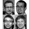 Petr Tošner (nahoře vlevo), Dalibor Smažinka (nahoře vpravo), Jindřích Světnica (dole vlevo) a Miloš Kohout (dole vpravo) z Axis Communications