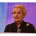 Na konferenci SAS vystoupila i Madelaine Albright