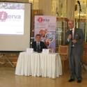 Zprava Petr Koptík (obchodní ředitel a předseda představenstva Minerva ČR a Jean-Claude Walravens (senior viceprezident společnosti QAD EMEA)
