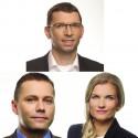 Nahoře Vítězslav Ciml, dole Tomáš Ammer a Zuzana Hofová
