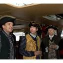 Piráti z eD' systemu na parníku na Vltavě