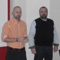 Vlevo Jiří Bradáč, IBM SW teamleader v Avnetu, a vpravo Bohdan Lajčuk, nezávislý konzultant