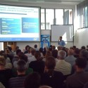 Petr Ulvr přednáší o současných technologiích Intelu