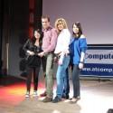Martin Wanke, marketingový ředitel AT Computers přebírá cenu Reseller Magazinu Czech & Slovak IT Vendor Awards 2011