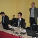 Zleva Michal Gerbel (Kobe), Victor Chiang (Synology) a Zdeněk Horáček (Kobe)