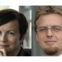Alena Sochorová a Martin Fiala z Accenture
